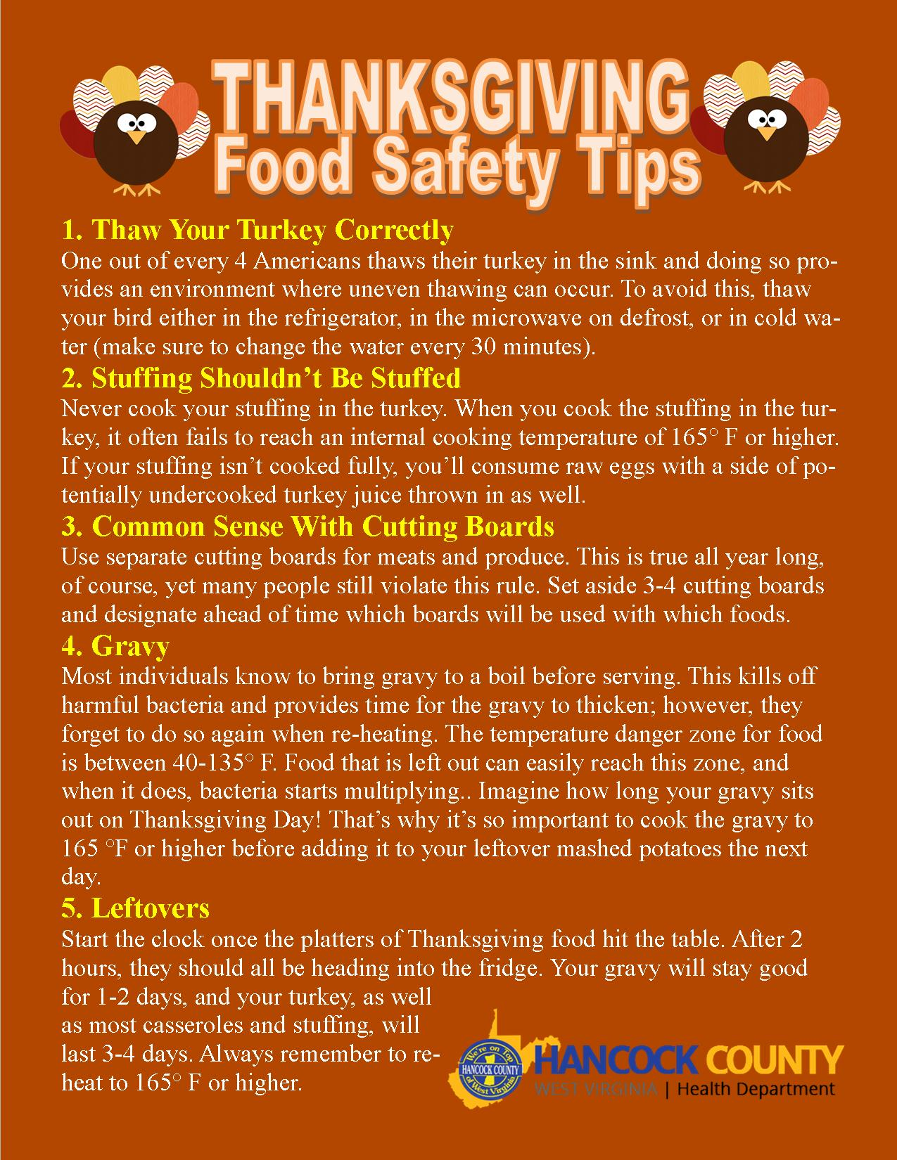 thaksgiving-food-safety